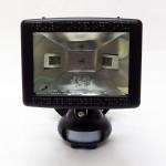 Philips QHF550 R7s 150W 78MM Halogen Flood Light (Black) c/w PIR Motion Sensor