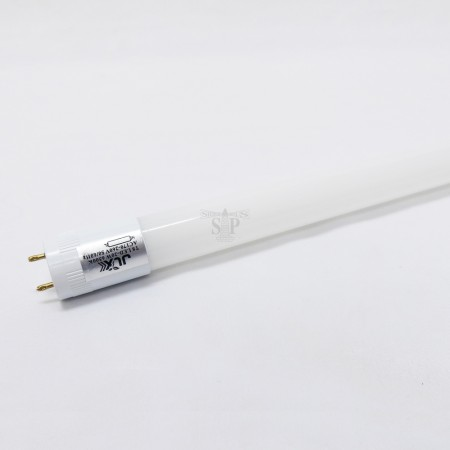 JLX 4ft G13 20W T8 LED Glass Double Input Tube (White)