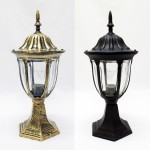 2297 E27 Classic Outdoor Stand Gate Lamp For Pole / Pillar