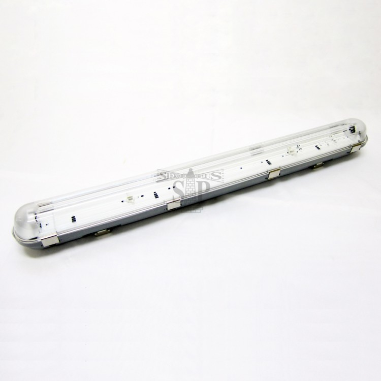 BTG 4ft Anti Corrosive/Weatherproof LED Single Circuit Casing For 4ft T8 LED Double Input Tube