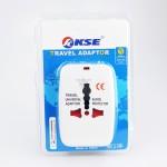 KSE International Universal Traveler Converter Adaptor (White)