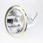 BTG 5010 6-inch E27 LED Down Light Round Bracket c/w Reflector [Recessed Type] (Sand Silver With Gold Side)