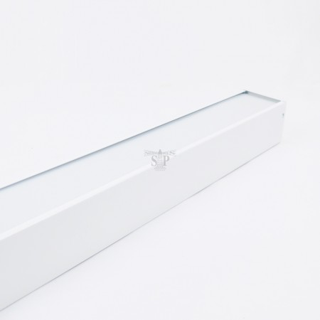Iwachi 4ft LED Single Circuit Linear-Series Opal Diffuser Casing (White) c/w T8 LED Tube And Pendant Accessories
