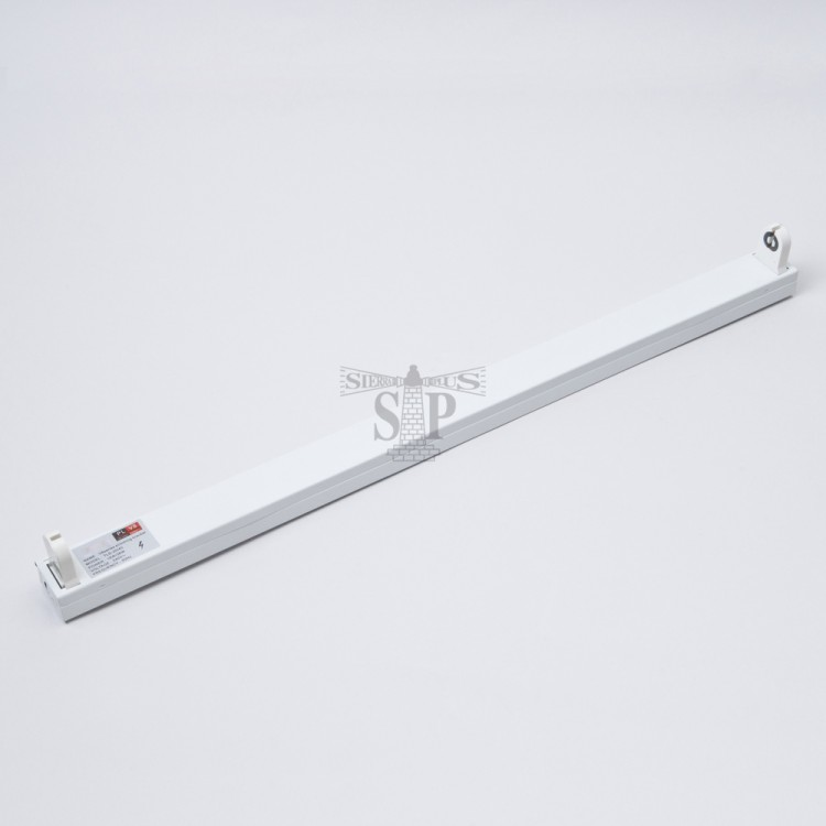 BTGLUX 4ft Single Circuit Fluorescent Casing c/w Electronic Ballast (White)