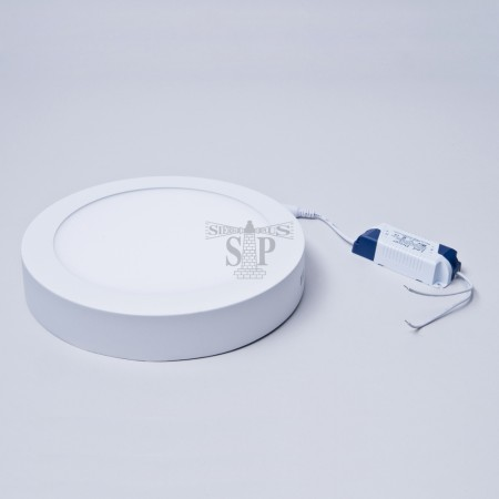 9-inch 18W SMD 2835 Flush Mount Surface LED Downlight/LED Down Light Round (White)