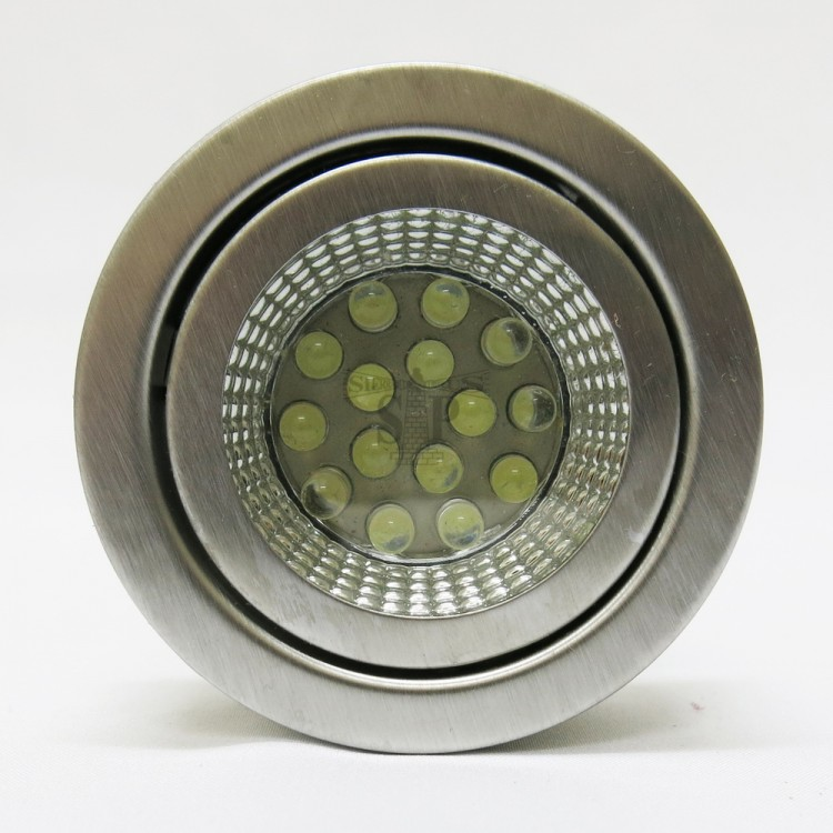872 LED Cabinet Light (Sand Silver) [Recessed Type/Surface Type]