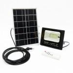 E-TEN JD-8810 10W SMD Solar LED Flood Light (Black) c/w Solar Panel