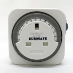 EUROSAFE 24hrs 13Amp Plug In Timer Switch (White)