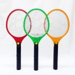 QX706 Rechargeable 2 Pin Plug Electric Insect / Mosquito Racket / Swatter / Rapper (Multicolor)