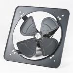 GOLD LUX 16-inch Wall Type Industrial Light Duty Exhaust Fan (Black)