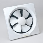 GOLD LUX 8-inch Wall Type PVC Exhaust Fan (White)