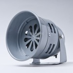 5-inch MS-290 Warning Siren Alarm (Grey)