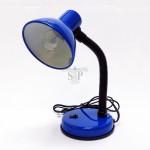 2025 E14 Desk Lamp / Table Lamp (Blue) c/w 40W E14 Incandescent Filament Ping Pong Light Bulb